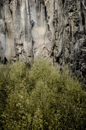 Last week I went climbing in Ettringen...