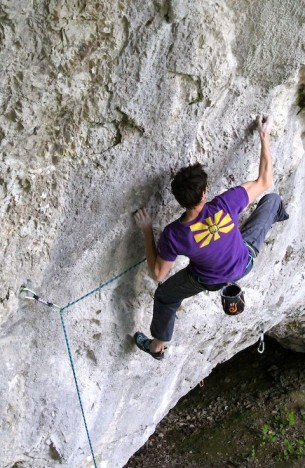 Last weekend I climbed Spirit, an old route in Belgium ...