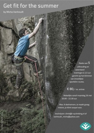 If you've planned a sport climbing holiday and you still want to gain some fitness before you go, then this course might be the right one for you...