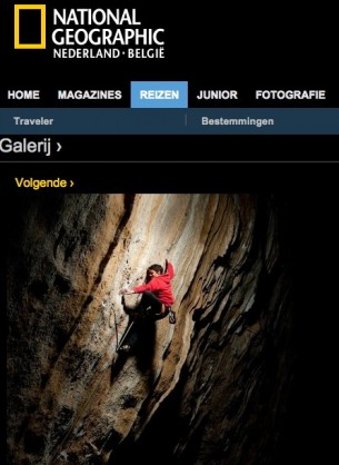National Geographic interviewed me for their Dutch and Belgian website...